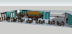 Proposed plans for beach bar